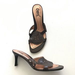 Carlos by Carlos Santana Leather Sandals Size 6.5